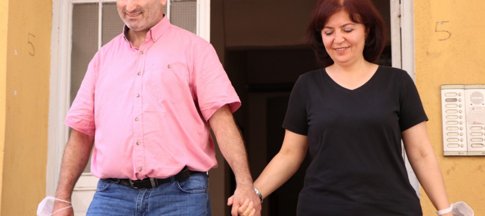 Parkinson hastası, sevgiyle yeniden hayata tutundu