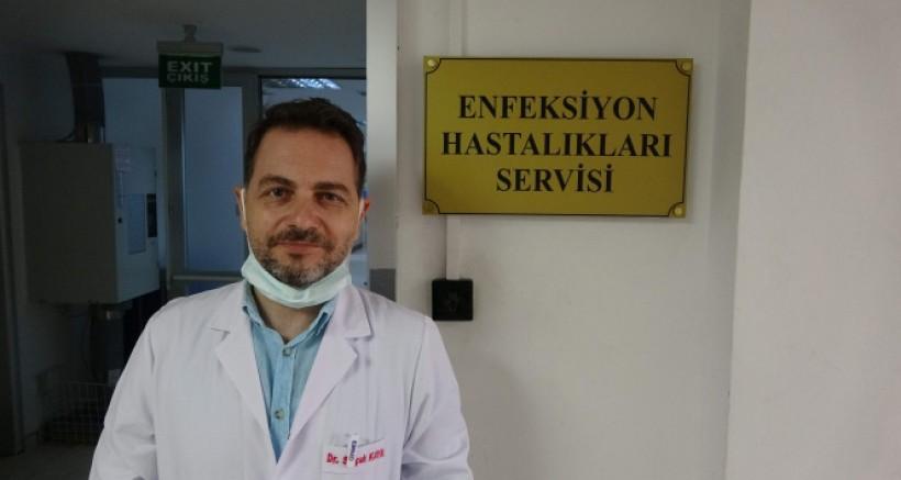 Türkiye'de ilk! Hem Covid hem KKKA hastası